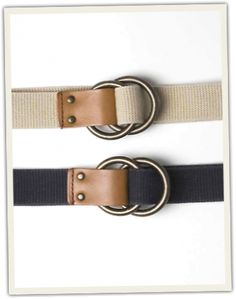 O-Ring Signature Cloth Belt | Grown and Sewn