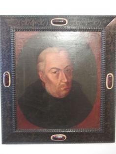 Pablo Antonio García del Campo Bogotá- Cundinamarca 1744-1814  Jose Celestino Mutis 1801 Oleo sobre tela.