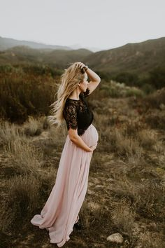 Rustic fall maternity photos