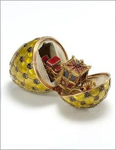 I love Fabergé eggs Faberge Art /Russian Art : More At FOSTERGINGER @ Pinterest