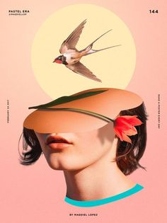 illustration - A Poster a Day: Design Project by Magdiel Lopez Art And Illustration, Illustrations And Posters, Graphic Design Illustration, Art Posters, Graphic Design Posters, Graphic Design Typography, Graphic Artwork, Graphic Design Projects, Photomontage