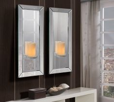 Espejos de Cristal Moderno : Modelo ELISA Pequeño