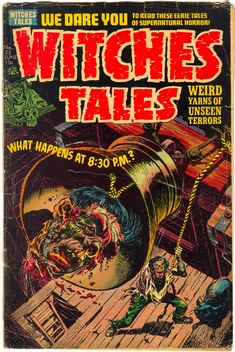 Witches Tales 25, 1954