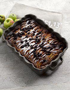 Resepti: Mummon omena-herukkapiiras Grill Pan, Grilling, Kitchen, Griddle Pan, Cooking, Crickets, Kitchens, Cuisine, Cucina