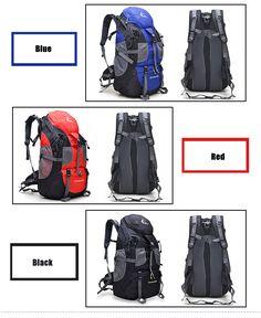 18EUR FREEKNIGHT 50L Climbing Bags Outdoor Backpack Climbing Backpack Sport  Bag Camping Backpack Capacity Travel Bag 9b72da2292