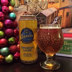 Day 2 of the #BeerAdventCalendar! #Grandl Bavarian Lager a light and delicious example of a classic traditional #beer