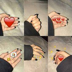 Phone Screen Wallpaper, Emoji Wallpaper, Beats Wallpaper, Red Aesthetic, Aesthetic Pictures, Foto Snap, Emoji Stories, Emoji Pictures, Cute Love Memes