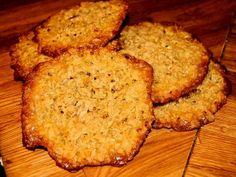 Havreflarn - Norwegian Oatmeal cookies
