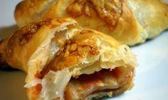 Pizzový croissant