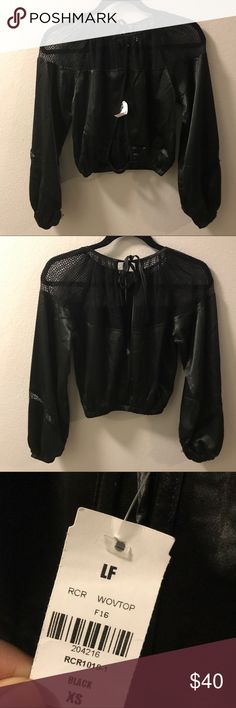 LF brand top LF Laguna top. size xs, fits a small. brand new with tags!! great for summer! make an offer!! (: LF Tops Blouses