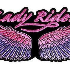 Lila Rose Flower Patch Eisen auf Sew On Embroidered Badge Motorrad Biker Totenkopf