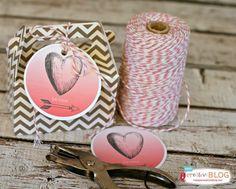 free valentine's day printables | TodaysCreativeBlog.net (Valentins Day Sweets Printable Tags)