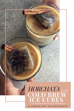 A caffeinated spin on a traditional Mexican beverage. This horchata recipe removes the excess sugar, adds emulsified MCT oil, and poured it over cold brew ice cubes. Creating a delicious and creamy combination that is sure to upgrade your coffee routine!