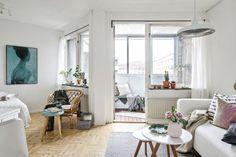 Mini-spazi da sogno: come arredare un monolocale a pianta irregolare | Una Casa Così