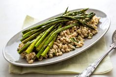 Barley and Herb Salad With Roasted Asparagus - NYTimes.com