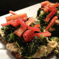 Hummus, Onion Relish, And Honey-Lime Kale Sandwich Recipes ...