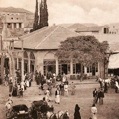 Martyrs Square [1898] Baalbek, Beirut Lebanon, Historical Pictures, Old City, World Cultures, Vintage Pictures, Cairo, Old Photos, Past