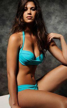Bikini Ready Sexxy Swimwear|Serafini Amelia| Cool Teal Separates by Peixoto 2014 from #SwimwearBoutique