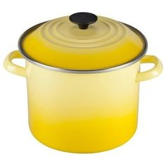 You've got a list of ingredients and you're up with the sun and cooking. Your Le Creuset 8 qt. Stockpot - Soleil is the color of sunshine and. Toy Kitchen, Kitchen Utensils, Kitchen Dining, Kitchen Goods, Kitchen Things, Kitchen Stuff, Le Creuset Canada, Grilled Sweet Potatoes, Steel Stock