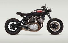 Yamaha 750 Virago street tracker