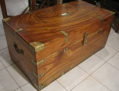 COFFRE EN CAMPHRIER - Hope Chest, Storage Chest, Woodworking, Sea, Furniture, Home Decor, Wooden Crates, Toy Chest, Carpenter Tools