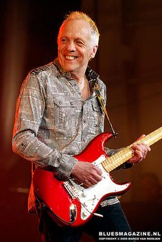 Robin Trower (former Procol Harum guitarist) I saw him in San Jose CA in the 80's. I got to meet him and he signed a few things and hung out talking for about an hour......then show that night. Still freakin rockin .~ ~was awesome...in a club setting!