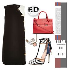Untitled #121 by qroxp on Polyvore featuring polyvore, fashion, style, River Island and GUESS