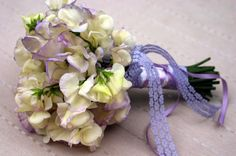 Sweet Pea Bouquet. Simple and beautifully fragrant.