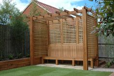 Garden Designer in Suffolk l Helen Allison Raised Garden Beds, Raised Beds, Garden Design, Pergola, Outdoor Structures, Gardening, Lawn And Garden, Outdoor Pergola, Flower Beds