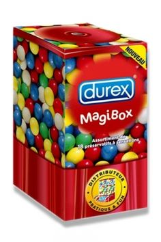 Découvrez la Magibox de DUREX et son nouvel assortiment de 18 préservatifs à…