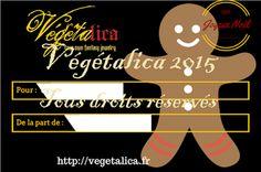 Végétalica: Cartes cadeaux Noël offertes !