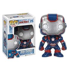 Iron Man 3 Movie Iron Patriot Pop! Vinyl Bobble Head