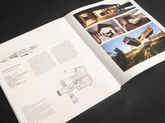 Architecture book design and layout by Peter Armstrong, via Behance