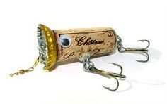 how to make bottle cap fishing lures