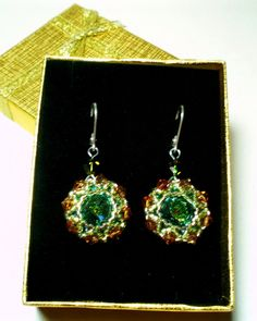 Earrings New Year's Eve by RUTA BUTKEVICIUTE - AYASSE on Etsy