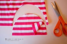 make a baby hat I have never thought about this before but would be easy and cute