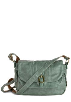 Mint Me Tonight Bag. When you need a super-cute carryall thats also fully functional, reach for this mint-green bag and head out for the night! #green #modcloth