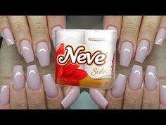 Toilet paper and Maizena Nails - Natural Nails - Silk Nails Silk Nails, Dr Pepper Can, Manicure E Pedicure, Natural Nails, Nail Tips, Shot Glass, Beauty Hacks, Beauty Tips, Diy And Crafts
