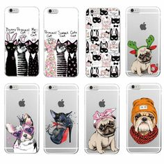 Fly Animals Soft Phone Case For iPhone 7 7Plus 6 6S 6Plus 8 8Plus X Samsung