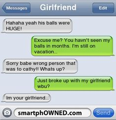 Relationships - Autocorrect Fails and Funny Text Messages - SmartphOWNED