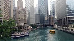 GET OUT ON THE RIVER!  Don't miss the Chicago River this summer