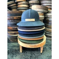 South African Label - Simon and Mary are launching their felt Pith Helmet collection for SS15 - Made in Johannesburg.