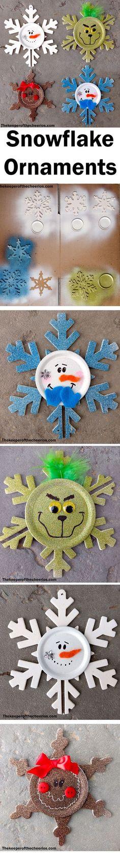 Snowflake Christmas Ornaments