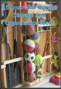 15 clever diy garage organization and storage solutions.