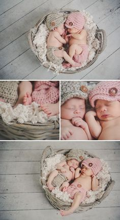 Twins nursery: twin baby girls, twin babies, cute baby twins, t Cute Baby Twins, Twin Baby Girls, Baby Kostüm, Boy Girl Twins, Baby Kind, Twin Babies, Baby Born, Newborn Bebe, Foto Newborn