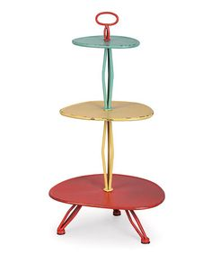 Rosie served canapes to The Jetson's on this, yeah? This Oblong Tiered Server is perfect! #zulilyfinds