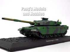 Challenger 1 British Main Battle Tank 1/72 Scale Diecast Metal Model by Atlas