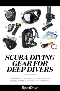 The Best Gear for Deep Divers — If you plan on diving deep, you should get the proper training, experience and scuba gear — including backup gear. Check out reviews and Editor's picks on the website.