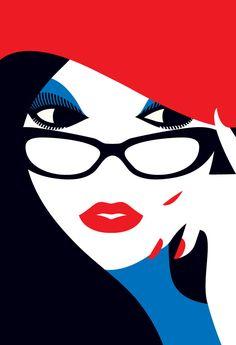 Malika Favre is a London-based, French-born illustrator/graphic designer. Her bold vector illustrations are stunning. Malika Favre's Portfolio Art And Illustration, Arte Pop, Pop Art, Arte Fashion, Hijab Fashion, Affinity Designer, Art Graphique, Grafik Design, Art Design