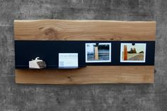 #Modernes #Magnet-#Wandboard in einer #Massivholz-Metallkombination ideal zum Anbringen ihrer Notizen oder #Lieblingsfotos jetzt im Online-Shop von @inn art dESIGN Floating Shelves, Home Decor, Setting Goals, Modern Furniture Design, Timber Wood, Creative, Homes, Decoration Home, Room Decor